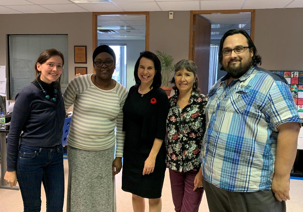 Visite de la mairesse de Montréal !