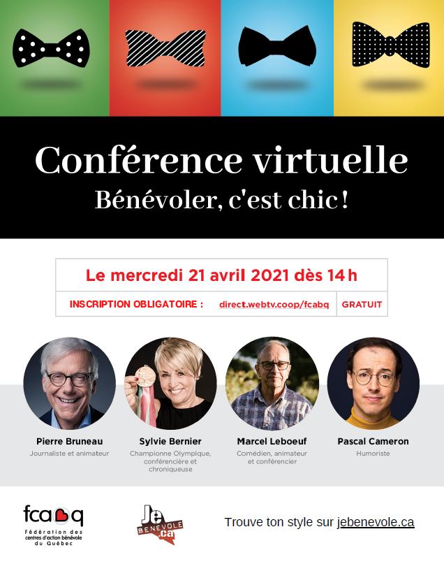 Conférence virtuelle FCABQ 2021